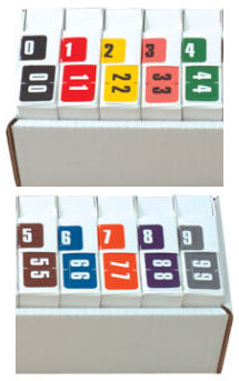 Digicolor 280 Numeric Series Full Set - 10 Boxes per Tray