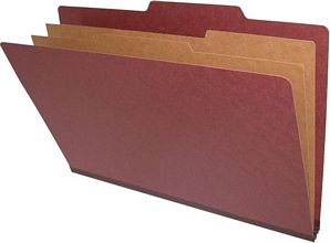 25 pt Legal Size Type II Top Tab Pressboard Folder